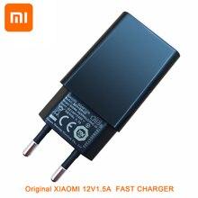 Original Xiao mi QC 3,0 Schnell Ladegerät 12 V 1.5A EU UNS Schnelle Lade Adapter für mi 9 8 6 mi x 5 s 5c 5 4 s 4 Hinweis 2 Rot mi 3 3 s 4a Hinweis