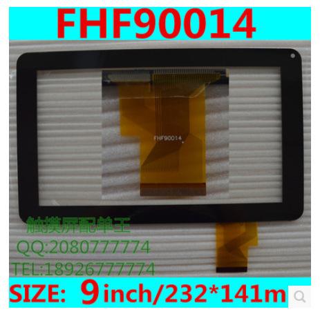 Nueva pantalla táctil capacitiva de la tableta de 9 pulgadas FHF90014 envío gratis