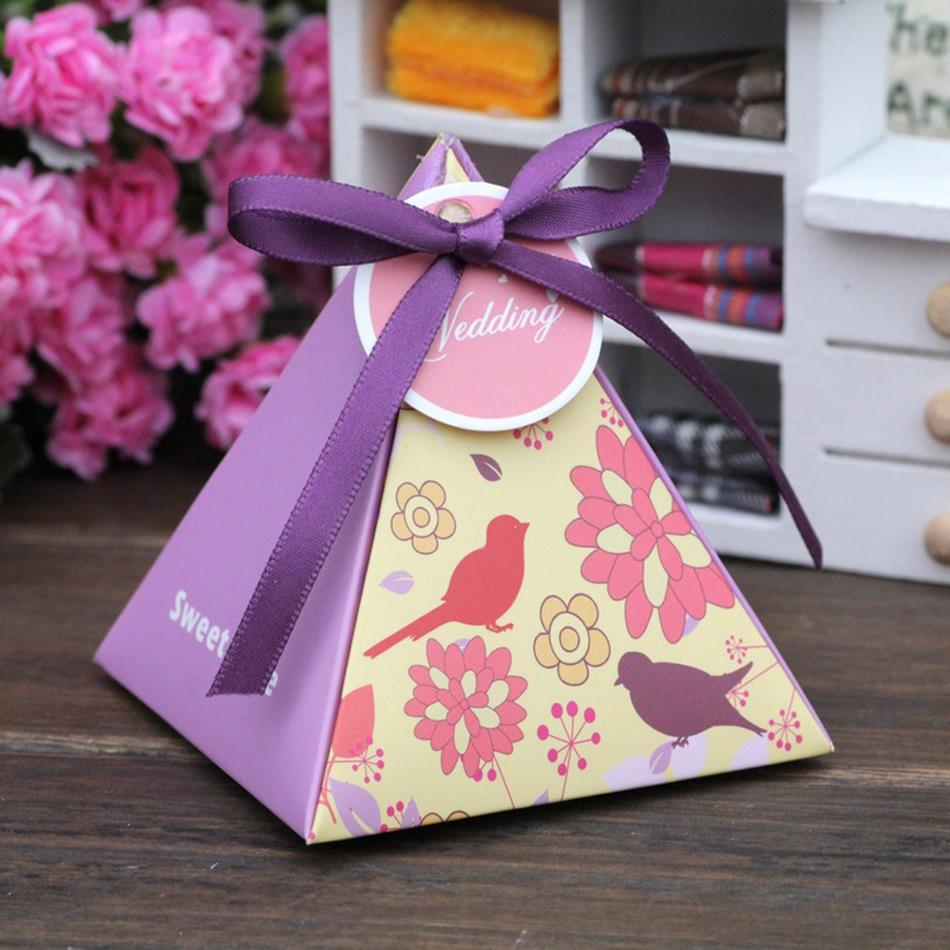 Aliexpress.com : Buy Wedding Box Paper Gift Favor Gift Boxes for Candy ...