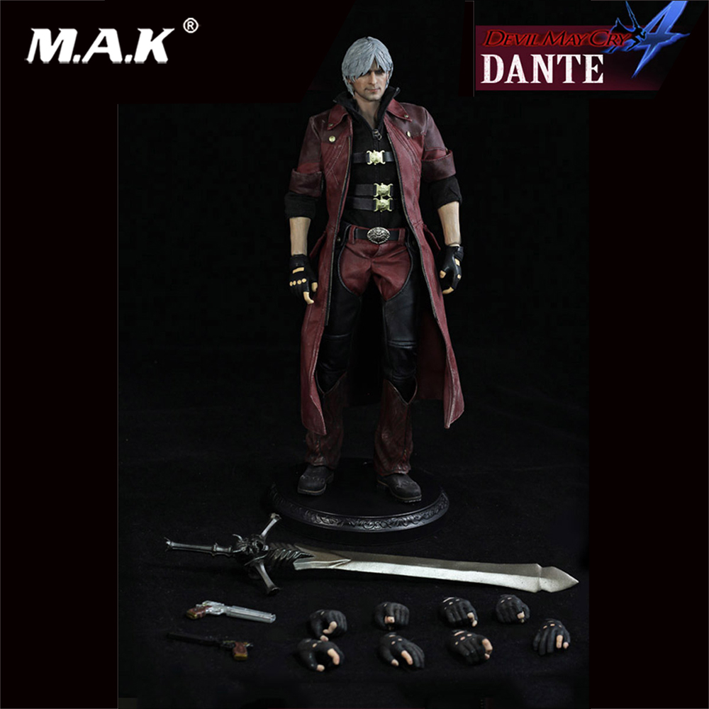 1:6 Scale The Dante Figure Devil May Cry 4 Series Action Figure Model Regular Version for Collection weisberger l weisberger the devil wears prada page 1