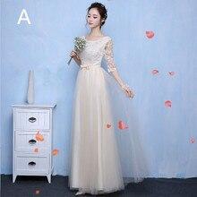 9d4bf0d37 XXY03 vino rojo encaje de largo vestidos de dama de honor boda fiesta  vestido gris vestido
