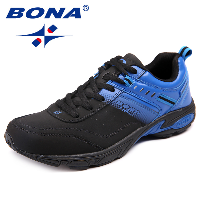 BONA New Arrival Classics Style Men Running Shoes Lace Up Men Athletic Shoes Outdoor Jogging Sneakers Light Fast Free Shipping bona new classics style men running shoes mesh men athletic shoes lace up men outdoor sneakers shoes light soft free shipping