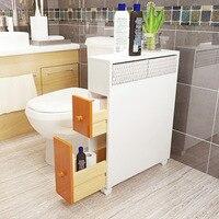 Ванная комната полки туалетное натуральное дерево получает ковчег мобильных Водонепроницаемый сливного бачка Полки Организатор Solid дерев