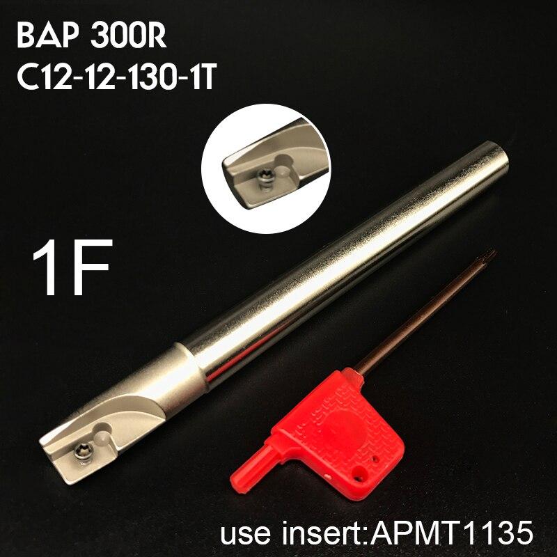 BAP 300R C12-12×130-1T Milling Tool holder For APMT1135 PDER