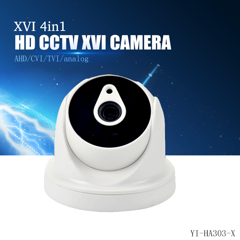YiiSPO 4in1 AHD CVI TVI analog camera 720P 1080P dome indoor waterproof infared wide angle 2.8mm 3.6mm 6mm HD CCTV camera 4 in 1 ir high speed dome camera ahd tvi cvi cvbs 1080p output ir night vision 150m ptz dome camera with wiper