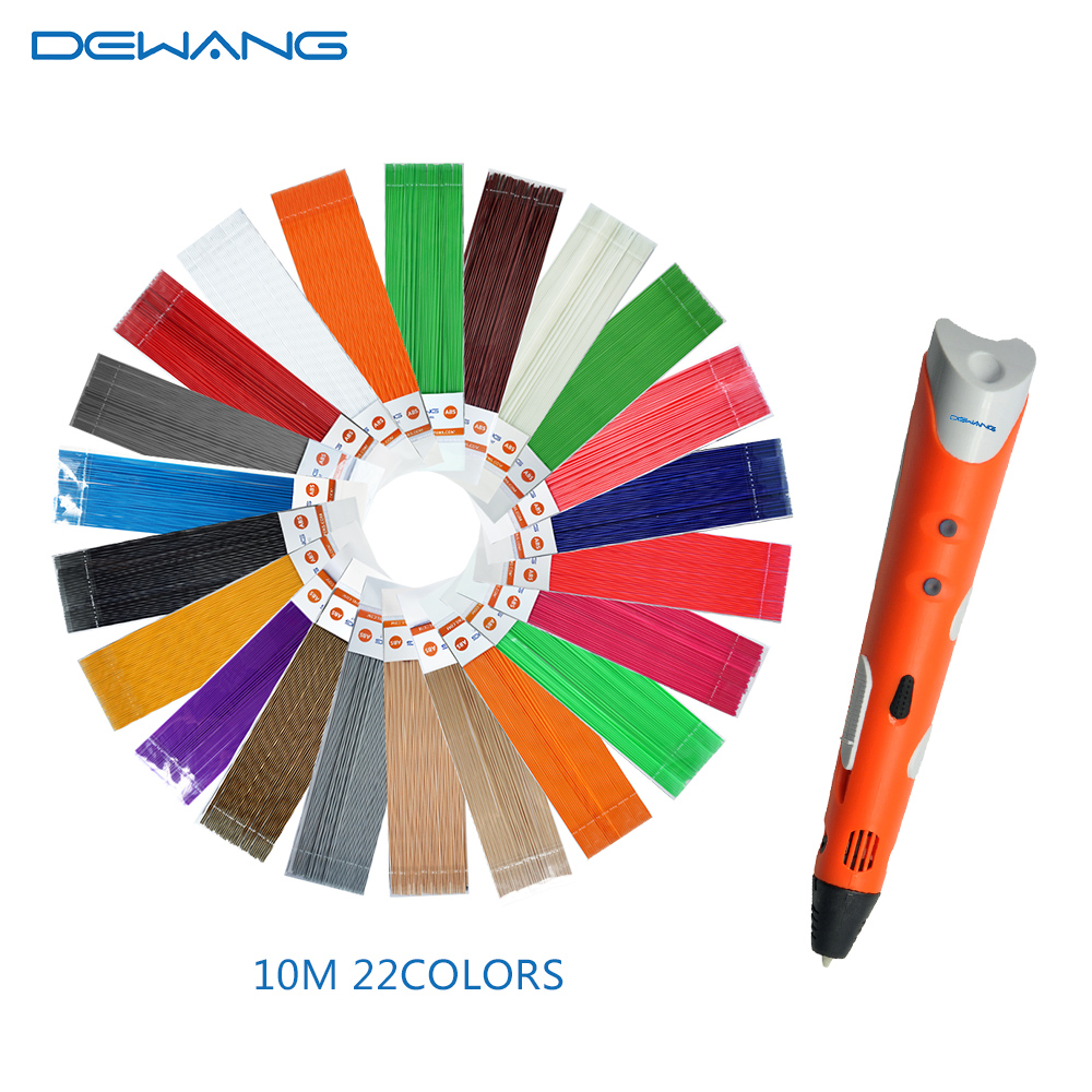 DEWANG писанка ручка 3D ручки 220M PLA нитка 3D - Офісна електроніка - фото 3