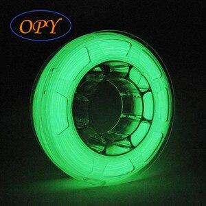 Image 2 - Lueur dans le Filament sombre Pla matériel 3D plastique 1.75mm imprimante lumineux marbre bois Noctilucent 1Kg