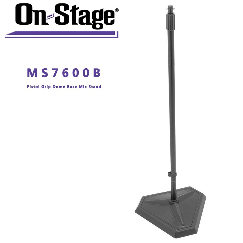 On-Stage On Stage MS7600B Hex-Base Microphone Stand