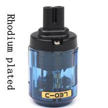 Hifi 1 шт. родиевое покрытие аудио Великобритания/ЕС/США/AU кабель питания IEC разъем адаптер разъема рис. 8 AC разъем адаптера питания