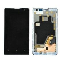 Черный для Nokia Lumia 1020 ЖК-дисплей с сенсорным экраном дигитайзер в сборе с рамкой Бесплатная доставка