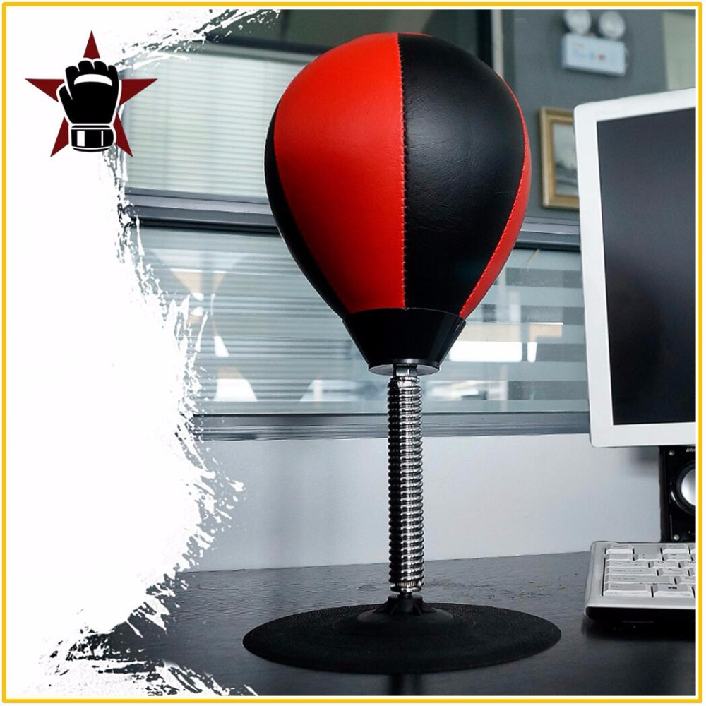 High Quality Desk Boxing Punching Bag Speed Ball Bags PU Punch Training Fitness Sports Practical Stress Release