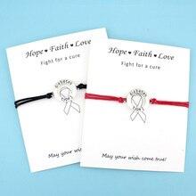 900e7a82515f Pulseras de la tarjeta de la Alerta Médica del tipo diabético 1 para el  cáncer de mama