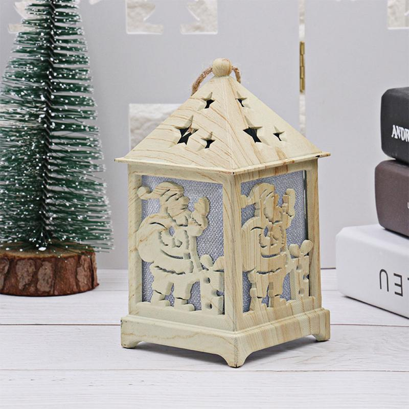 Glowing Christmas Decoration For Home Christmas Tree Decoration Hut ...