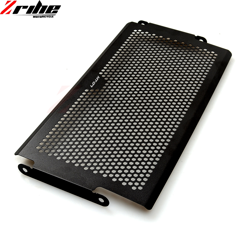 For Stainless Steel Motorcycle Radiator Guard Radiator Cover For Yamaha Mt07 Mt 07 FZ07 FZ 07 MT 07 2014 2015 2016 XSR700 in Covers Ornamental Mouldings from Automobiles Motorcycles