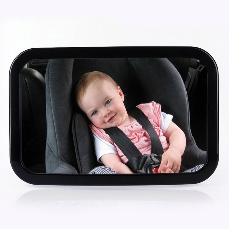Car Auto Rear Seat View Rearview Mirror Baby Backseat Child Safety Adjustable 360 Degree Rotation DXY88