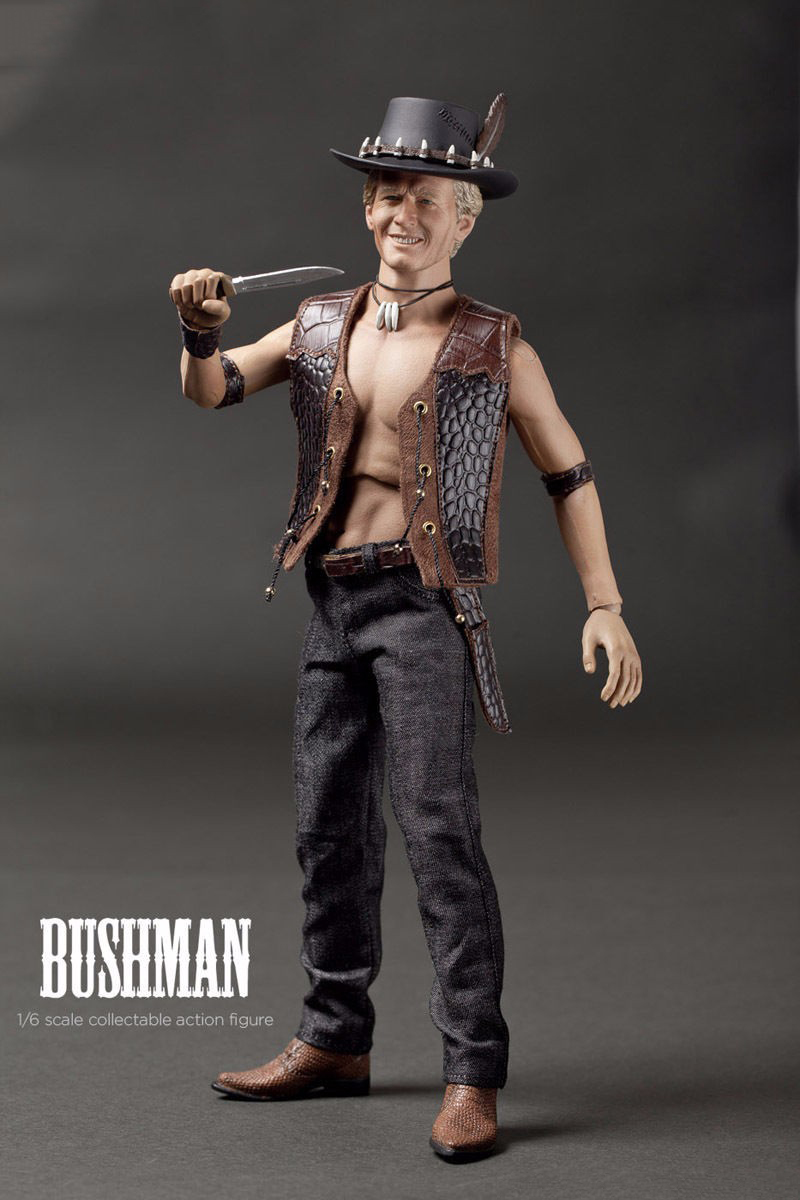 1/6 Scale Bushman Crocodile Dundee Full Set Action Figure for Model Dolls Toys Collections pocket bushman cold steel