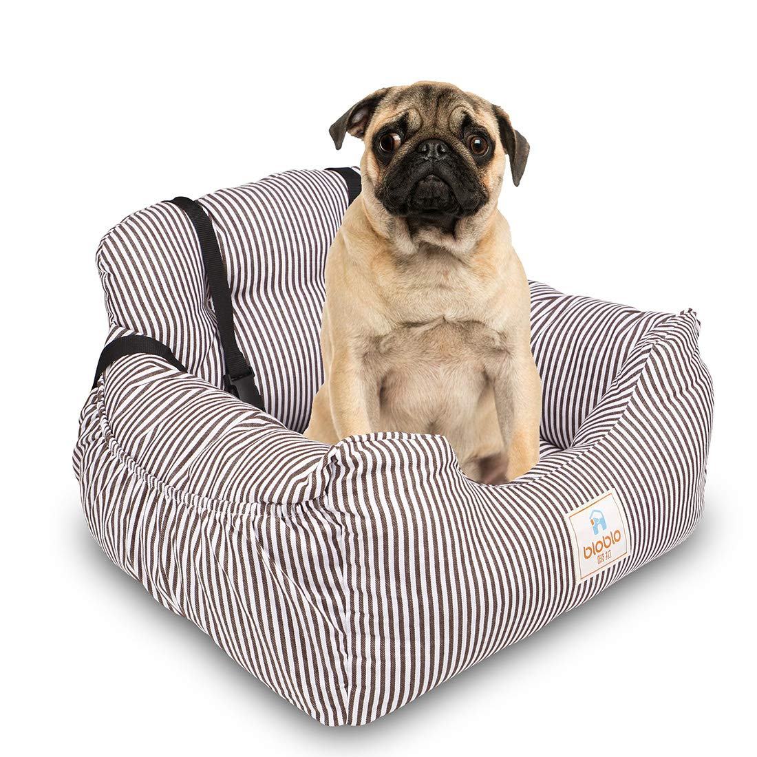 Siège de sécurité pour animaux de compagnie confortable respirant à l'extérieur voyage voiture transporteur chien lit tapis couverture Pet siège de voiture sac