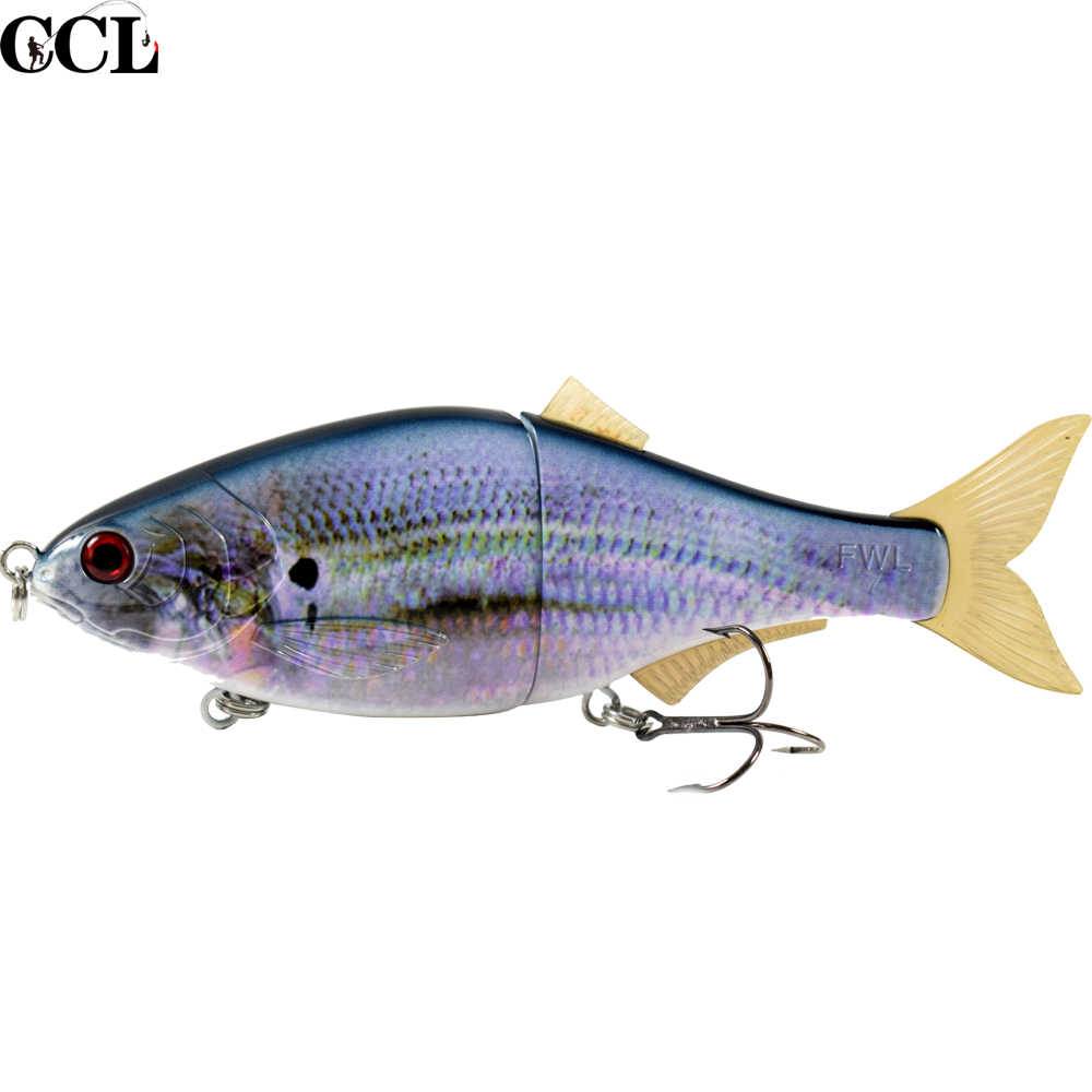 CCL Perfect Swimming Action Fishing Lures Minnow SwimBait 4