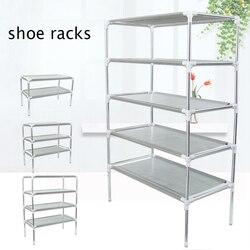 Non-woven Fabric Shoe Storage Shoes Rack Hallway Cabinet Organizer Holder Removable Door Cabinet Shelf DIY Home Furniture