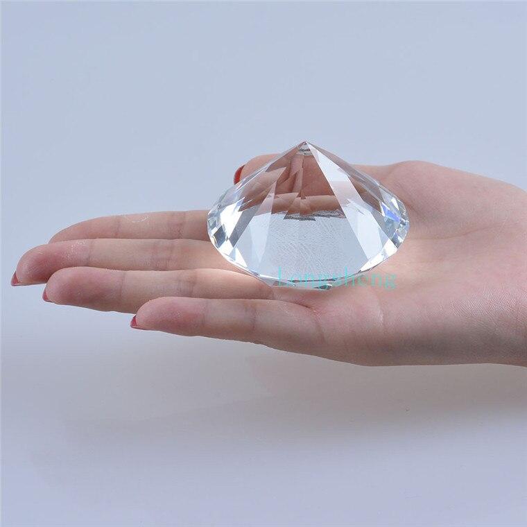 60MM křišťálové sklo diamantové šperky řemesla obývací pokoj domácí dekorace příslušenství moderní nejlepší dárek pro přítele
