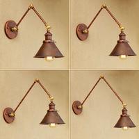 Industriële Loft Stijl Edison Wandlampen Vintage Wandlamp Ijzeren Muur Verlichtingsarmaturen Voor Indoor Verlichting Lamparas De Pared