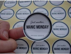 Image 1 - (1,37 дюйма) 35 мм печать на заказ самоклеющиеся наклейки с логотипом этикетки персонализированные наклейки этикетки 500 шт./лот