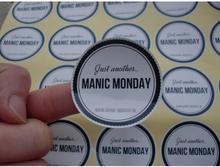 (1,37 pulgadas) etiquetas autoadhesivas personalizadas con impresión de logotipo de 35MM, etiquetas adhesivas personalizadas, 500 unids/lote