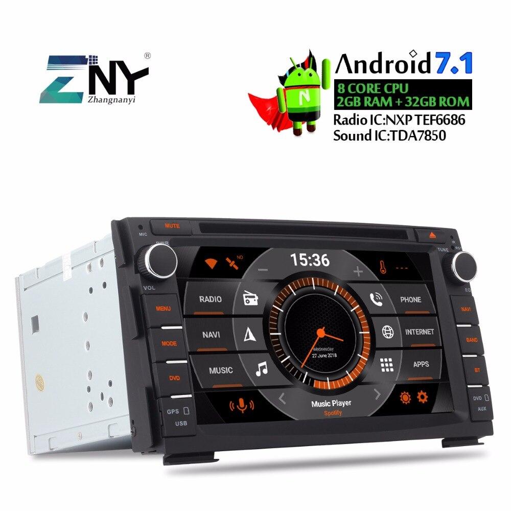 7 Android автомобильный DVD 2 Din Авто Радио для Kia Ceed 2010 2011 2012 Venga Мультимедиа Аудио Стерео Bluetooth gps ГЛОНАСС