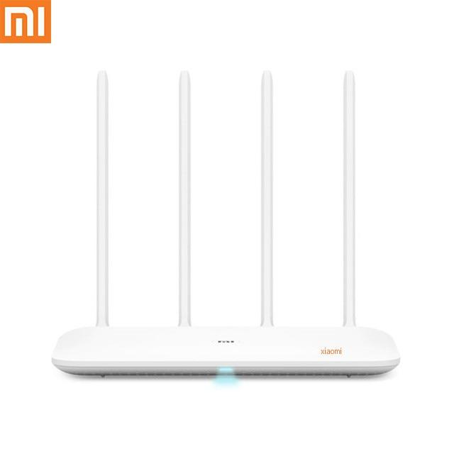 Routeur WiFi d'origine Xiao mi mi 4 répéteur WiFi 2.4G 5 GHz 128 mo DDR3-1200 double double coeur 880 MHz APP contrôle routeur sans fil
