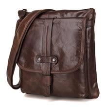7045Q JMD Cross Body Vintage Genuine Leather Men's Messenger Shoulder Bag