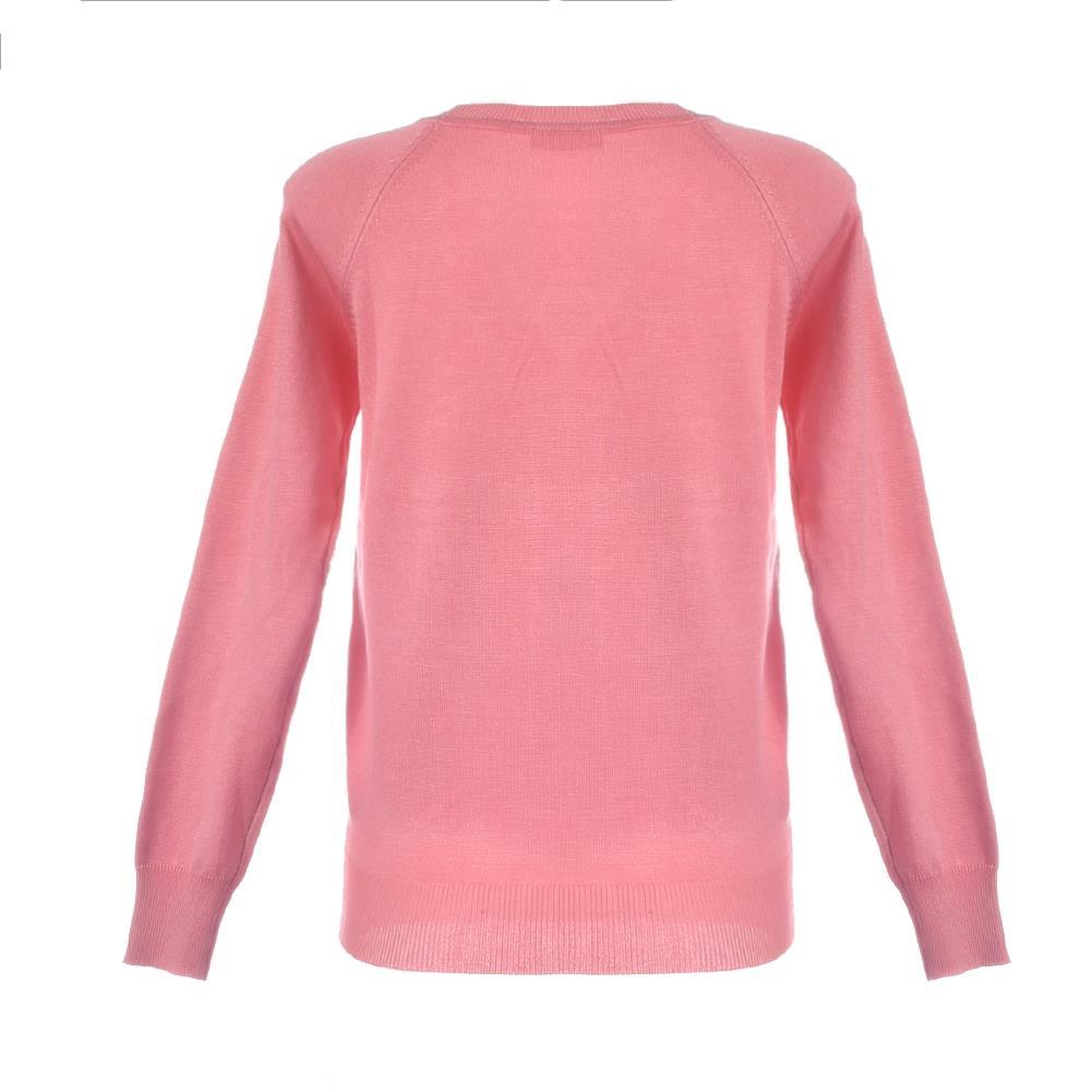 Long Sleeve Sweater Women Pink Sweater Black Cardigan Knitted ...