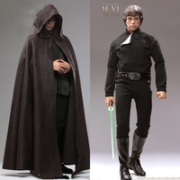 Collectible Hot Toys MMS429 1/6 Luke Skywalker Star Wars: Return of the Jedi Black Ver. full set action Figure Toy