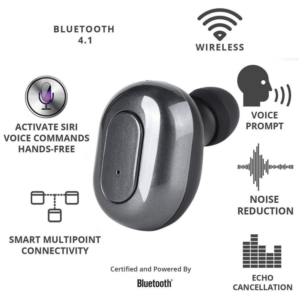 Universal Wireless Bluetooth Earphones Binaural Sports Bluetooth Earbuds Stereo Mini Headset With Portable Charging Box