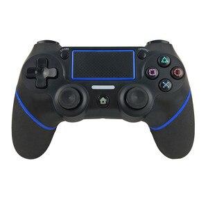 Image 3 - سماعة لاسلكية تعمل بالبلوتوث غمبد ل PS4 تحكم المقود لسوني بلاي ستيشن 4 المحمول الألعاب تحكم رائجة البيع ps4 المراقب المالي