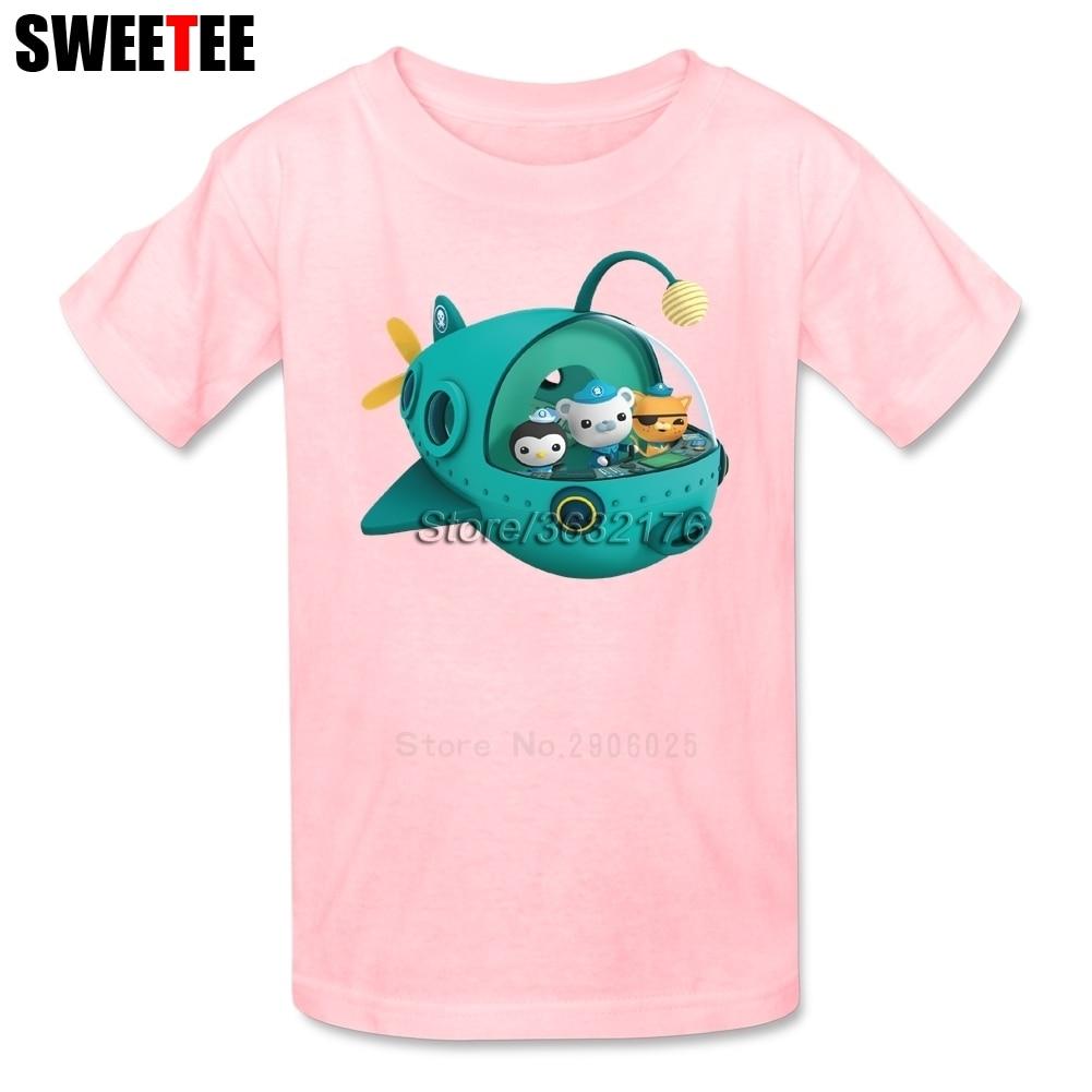 Octonauts Children T Shirt Cotton O Neck Short Sleeve Toddler Tshirt Costume Boy Girl 2018 Tops Tees Kid Infant T-shirt For Baby