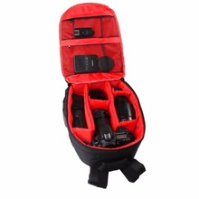 High quality Wholesale Best selling fashion waterproof DSLR camera bag backpack photo video camera bag with rain cover
