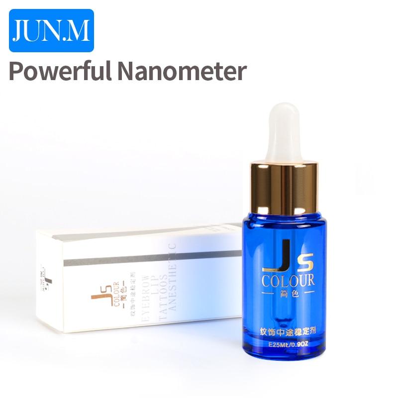 Gratis frakt 1 stk kraftfull nanometer extra flytande permanent tatuering smink för ögonbryn 25ML