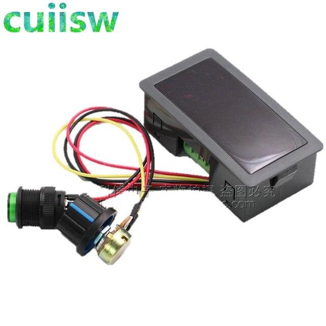 1PC 6V 12V 24V 5A PWM DC Motor Speed Controller CCM5D Digital Display LED Motor Controller Speed Regulator