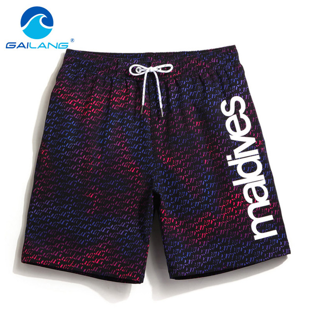 Gailang Brand Men Shorts Board Beach Trunks Shorts Swimwear Swimsuits Mens Loose Boardshorts Sweatpants Bermuda Quick Drying New