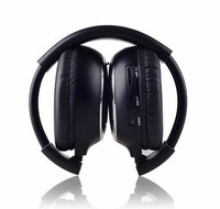 Freee Shipping Infrared Stereo Wireless Headphones Headset IR In Car Roof Dvd Or Headrest Dvd Player