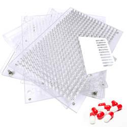 400 отверстий ручной капсула розлива #00 #0 #1 #2 фармацевтические капсулы Maker для DIY медицина Травяной pill Автомат фасовочный для сыпучих