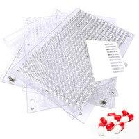 400 Holes Manual Capsule Filling Machine #00 #0 #1 #2 Pharmaceutical Capsules Maker for DIY medicine Herbal pill powder Filler