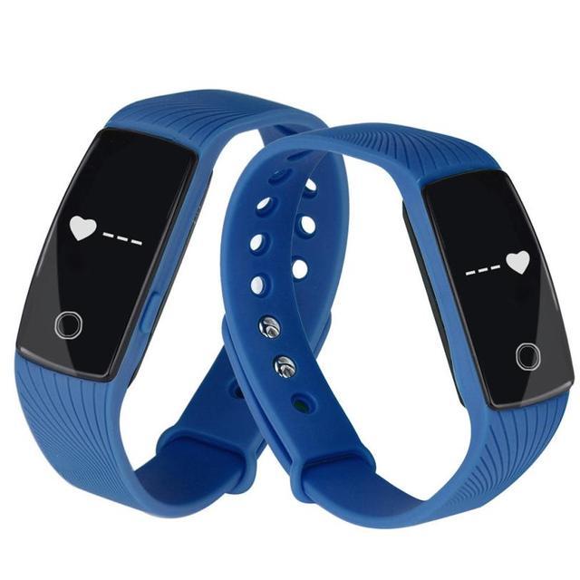 Buena venta dispositivo portátil inteligente bluetooth smart watch pulsera heartrate sync teléfono mate para ios android de noviembre 25