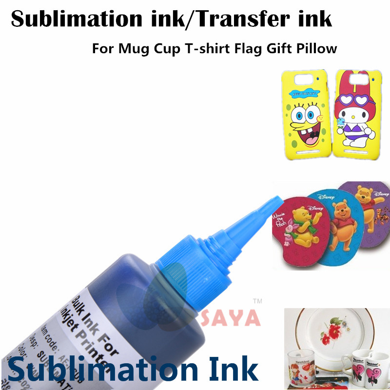 Image 3 - Sublimation Ink Heat Transfer Ink For EPSON Inkjet Printer  (6 colorx100ml)-in Ink Refill Kits from Computer & Office