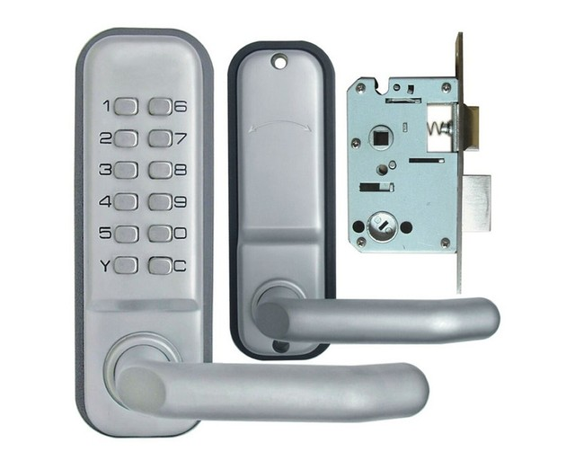 Mechanical Door Locks Key Digital Machinery Code Keypad Password Entry Door  Lock The 2th Generation Of