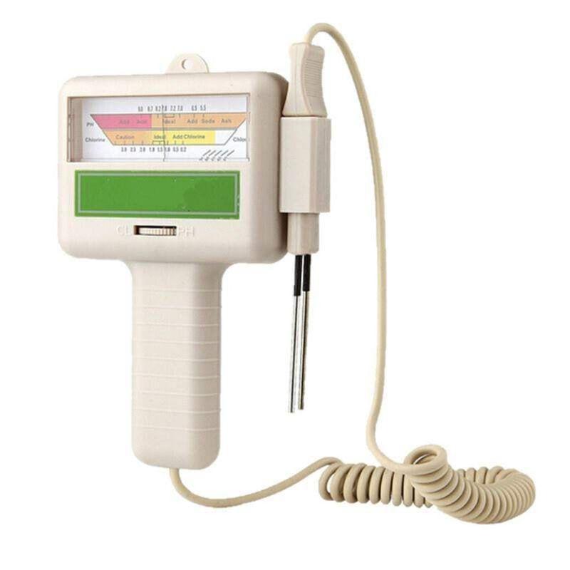 PC-101 pH CL2 probador de cloro de Calidad de Agua probador de medidor de pH para piscina Shahe Digital nivel transportador Inclinómetro de Nivel Magnético ángulo medidor de ángulo de buscador de nivel de ángulo Digital de