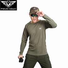 Brand Mens T shirt male Camouflage tshirt breathable Quick dry fishing Hiking Trekking Army Tactical Combat