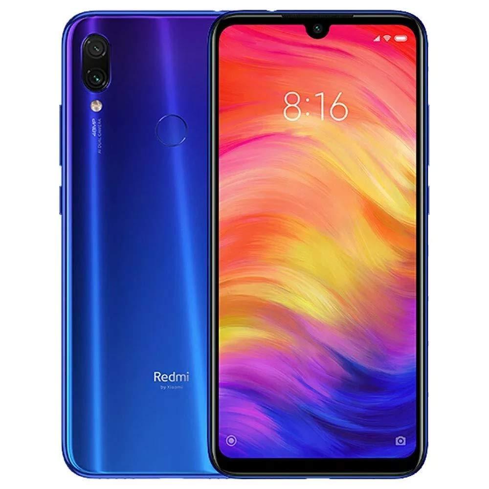 Xiaomi Redmi 7, Version globale, couleur bleu (bleu), 64 go de mémoire interne, 3 go de mémoire vive, double SIM, écran 6,26