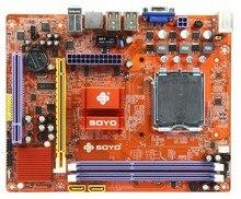 Soyo sy-i5g41-l v7.0 g41 Desktop motherboard LGA 775 DDR2 DDR3