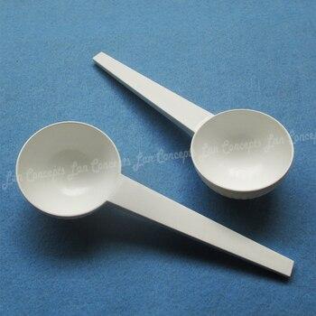 30 gram / 60ML Plastic Measuring Scoop 30g HDPE Spoon for medical milk powder Liquid - white 120pcs/lot Free shipping